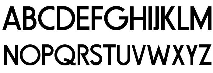 Fundamental  Brigade フォント 大文字