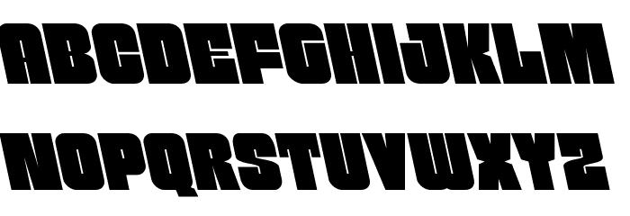 Funk Machine Leftalic Fonte MAIÚSCULAS