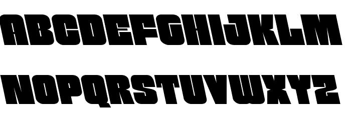 Funk Machine Leftalic Fonte MINÚSCULAS