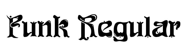 Funk Regular  Free Fonts Download