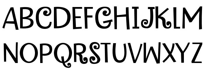 FunkyMotherDEMO Font UPPERCASE