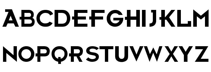 Futurama Bold Font Font UPPERCASE