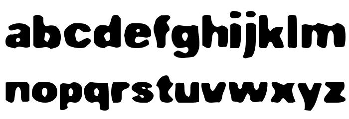 Fuuka Font LOWERCASE
