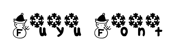Fuyu Font  Fuentes Gratis Descargar