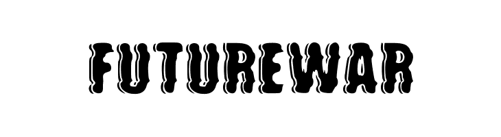 future war  Free Fonts Download