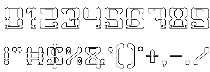 GAMER-Hollow 字体 其它煤焦