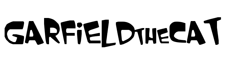 GARFIELD the CAT  Free Fonts Download