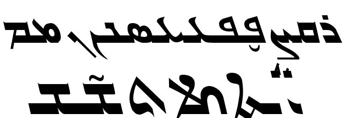Gabrial Ator Italic Fonte MINÚSCULAS