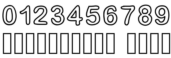 GaelleFont14 Шрифта ДРУГИЕ символов