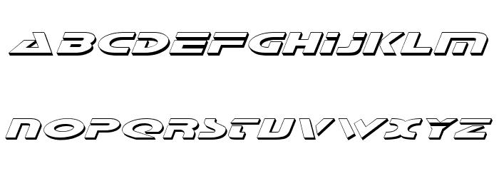 Galant Shadow Italic Font UPPERCASE