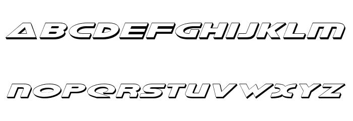 Galant Shadow Italic Font LOWERCASE