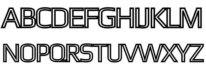 Gamestation-DisplayOutline Font UPPERCASE