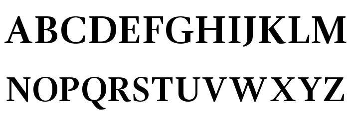 GandhiSerif-Bold フォント 大文字