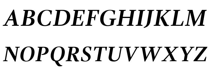 GandhiSerif-BoldItalic لخطوط تنزيل الأحرف الكبيرة