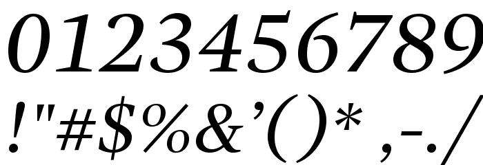 GandhiSerif-Italic Fonte OUTROS PERSONAGENS