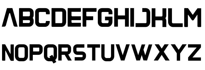 Gangga-Free-Font Font LOWERCASE
