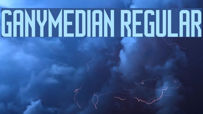 Ganymedian Regular Font examples