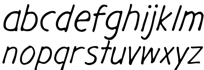 GargleRg-Italic Fonte MINÚSCULAS