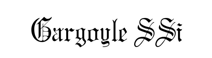 Gargoyle Font Search