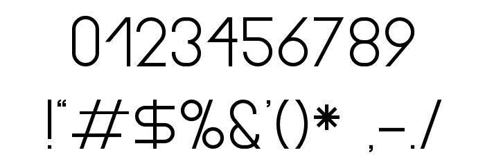 Gasalt Regular Шрифта ДРУГИЕ символов