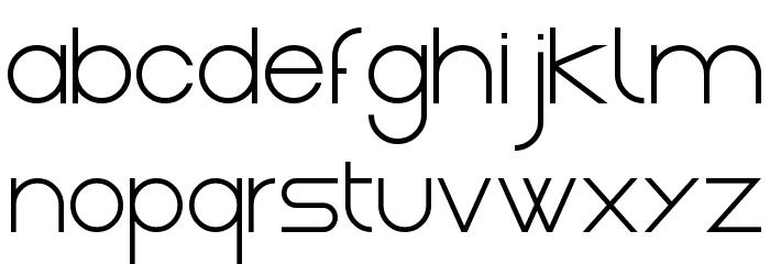 Gasalt Regular Шрифта строчной