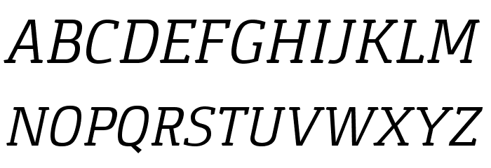 Gaspar-Italic Schriftart Groß