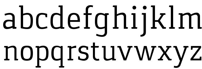 Gaspar Schriftart Kleinbuchstaben