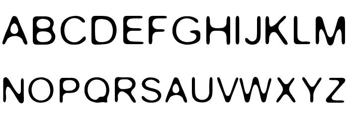 Gaussian-Blur Fonte MAIÚSCULAS
