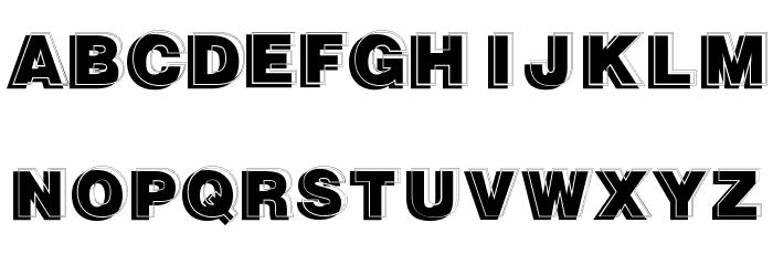 GautsMotelUpperRight Font UPPERCASE
