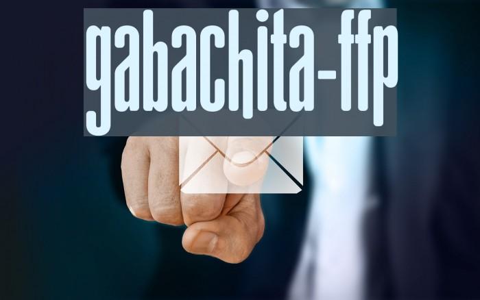 gAbAcHiTA-FFP फ़ॉन्ट examples
