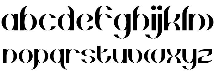 Gehenna Regular Font LOWERCASE