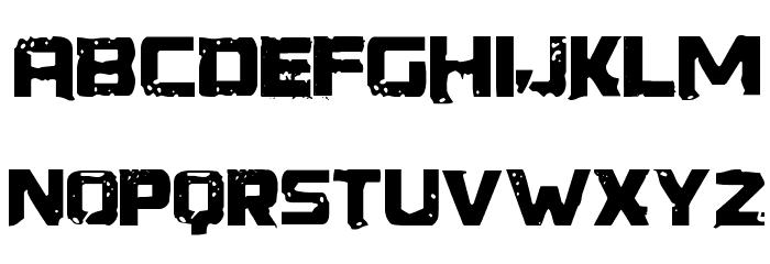 Generator REX フォント 大文字