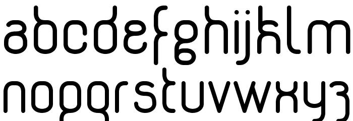Genikas Font LOWERCASE