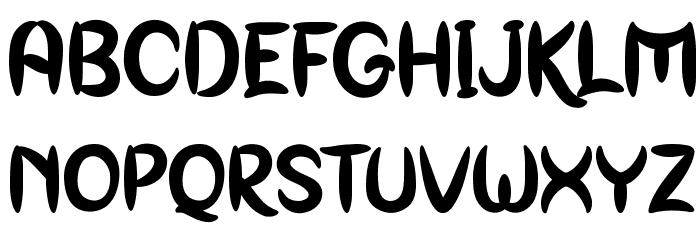 Genoock Personal Use Font LOWERCASE