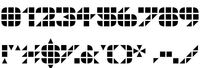 GeoGrid9 Font OTHER CHARS