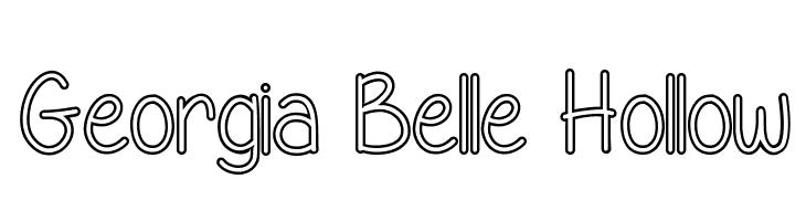 Georgia Belle Hollow  baixar fontes gratis