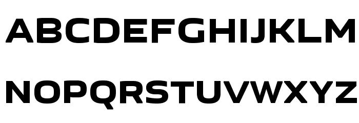 GetVoIP Grotesque Font UPPERCASE