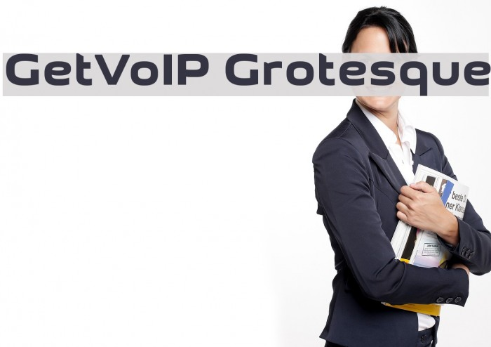 GetVoIP Grotesque Font examples