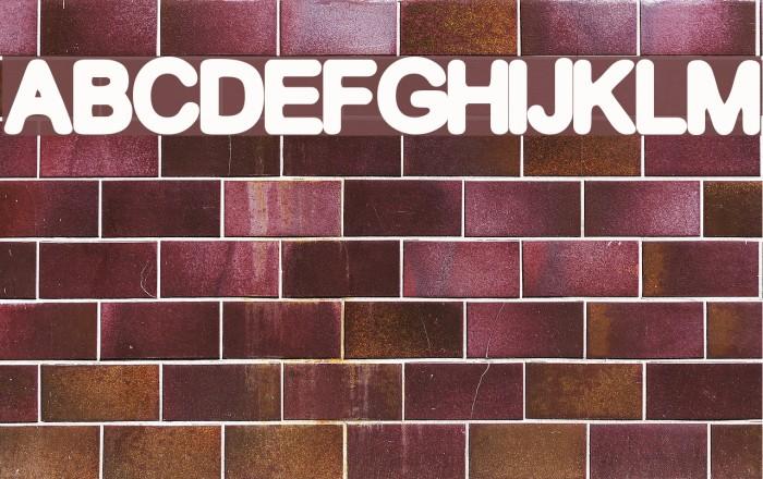 GF Becker Font examples