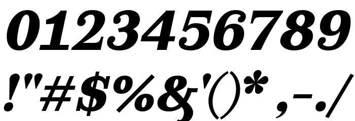 Ghostlight Bold Italic Fonte OUTROS PERSONAGENS