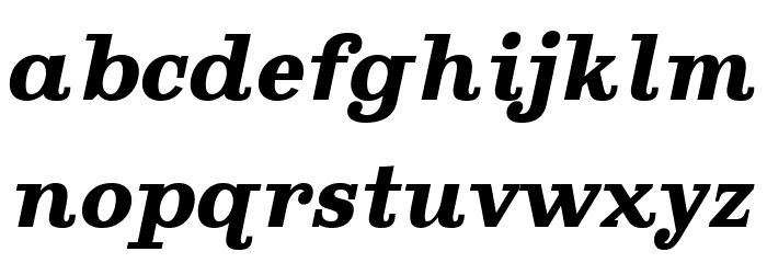 Ghostlight Bold Italic Шрифта строчной