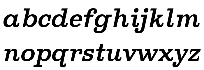 Ghostlight Italic Polices MINUSCULES