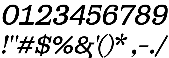 Ghostlight Light Italic Font OTHER CHARS
