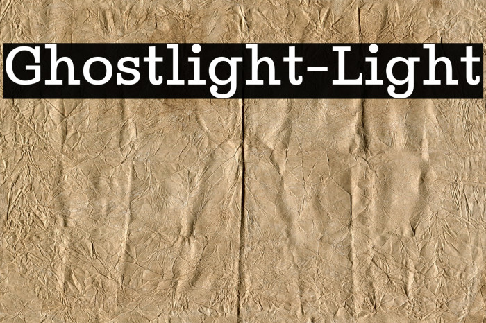 Ghostlight-Light Polices examples