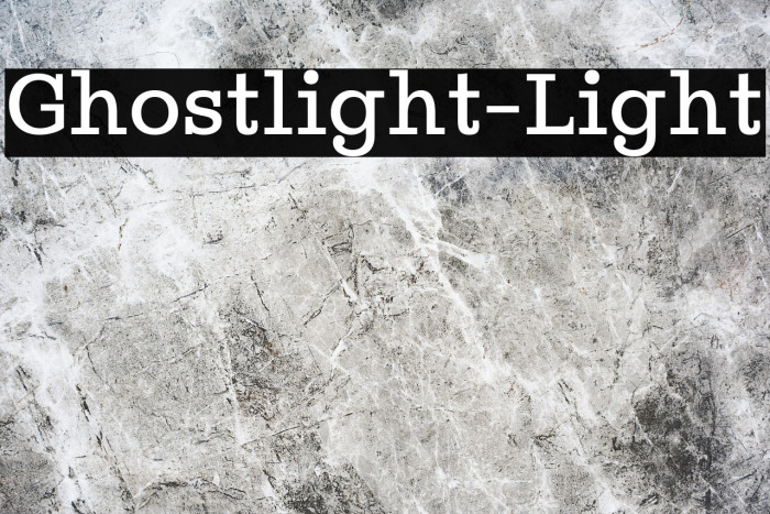 Ghostlight-Light Fuentes examples