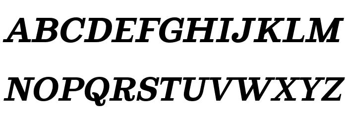 Ghostlight Semibold Italic फ़ॉन्ट अपरकेस
