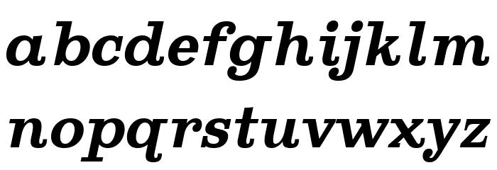 Ghostlight Semibold Italic Шрифта строчной