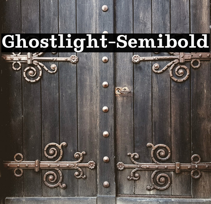 Ghostlight-Semibold Polices examples