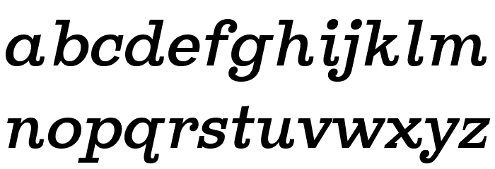 Ghostlight Semilight Italic Fuentes MINÚSCULAS