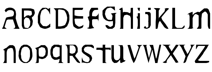 Gideon Plexus Font UPPERCASE